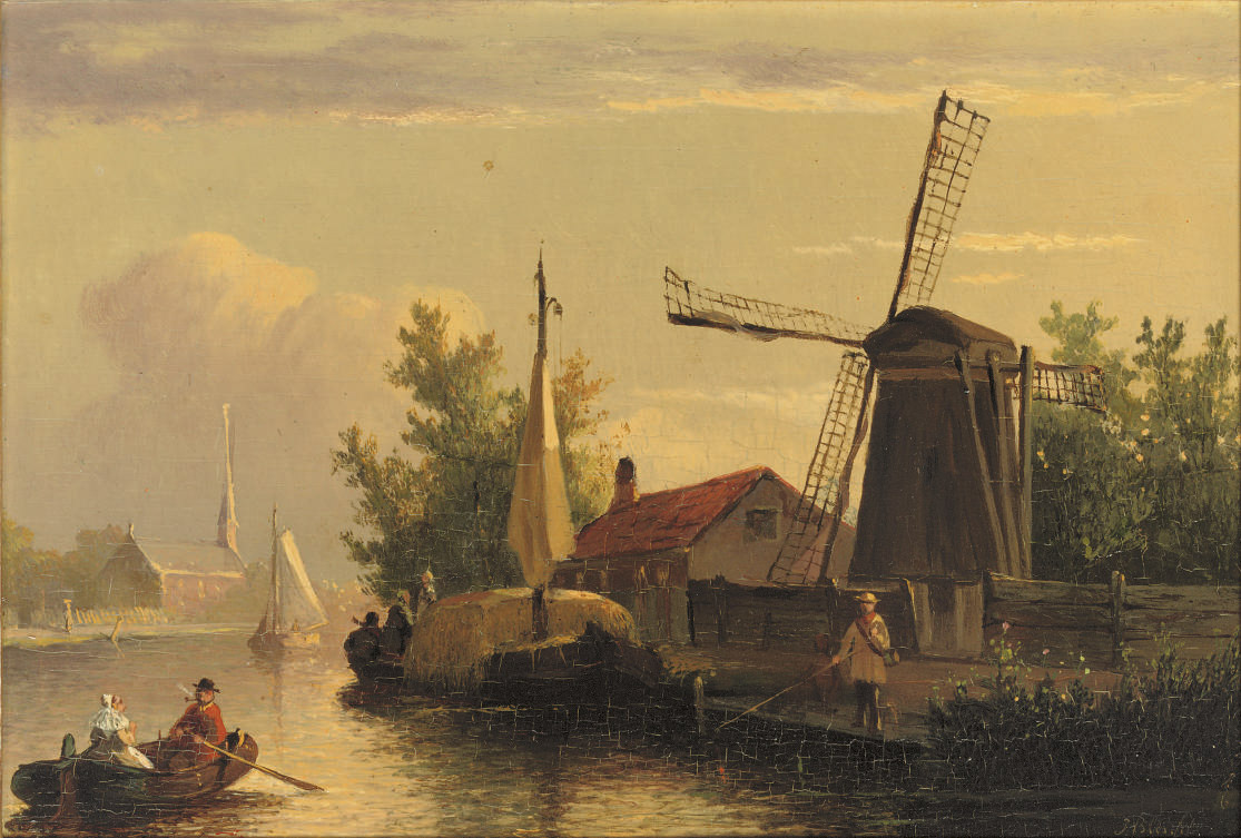 Joseph Bles (The Hague, 1825-1