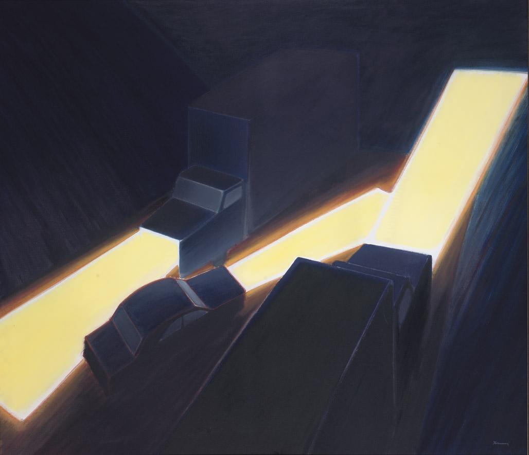Night on the ridge road