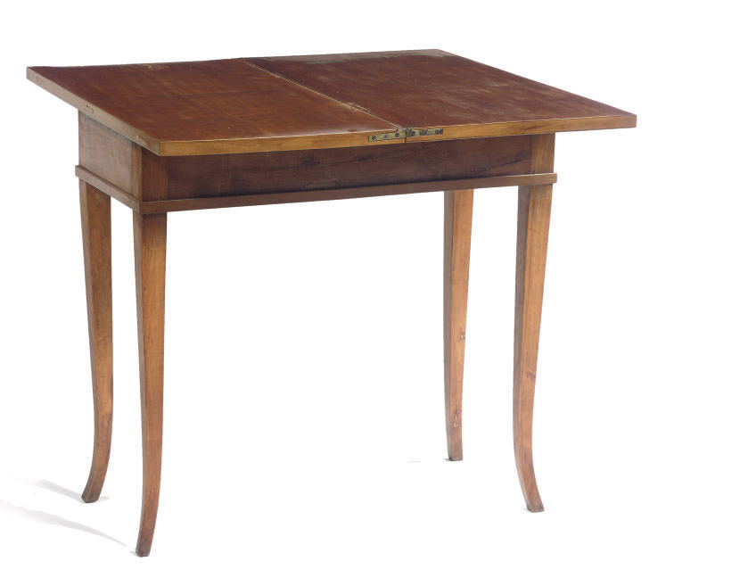A GERMAN BIEDERMEIER FRUITWOOD