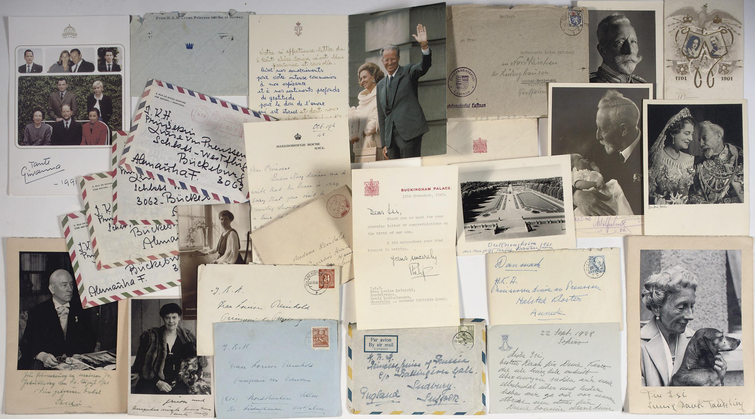 A collection of Royal correspo