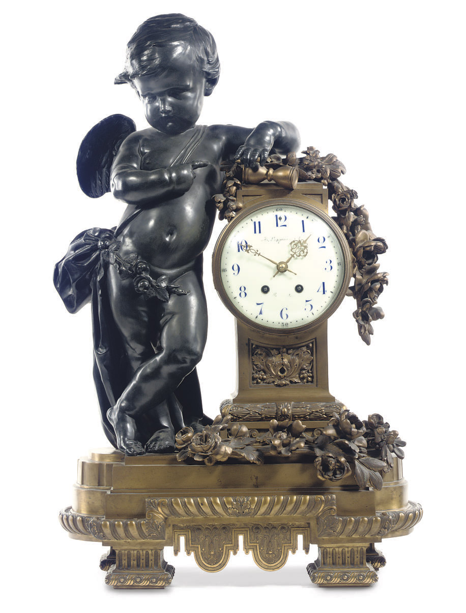 A LARGE BRUSSELS ORMOLU AND PA