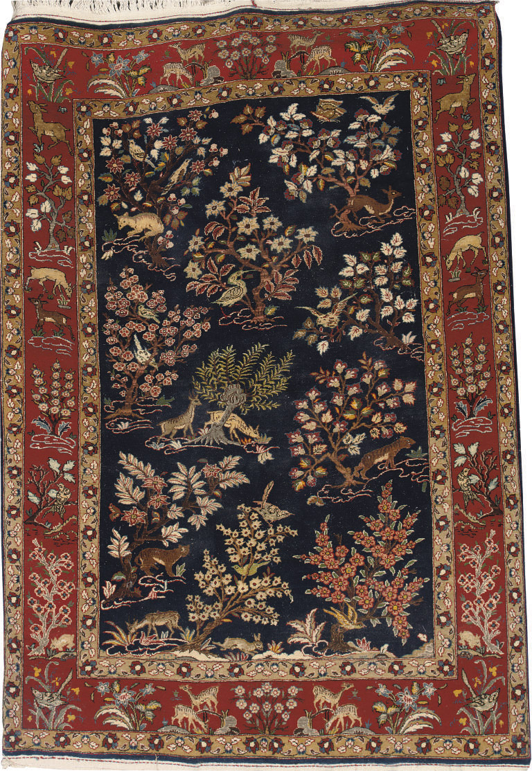 A Central Persian part-silk hu