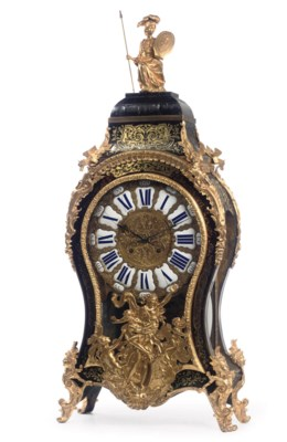 A LARGE FRENCH ORMOLU-MOUNTED,