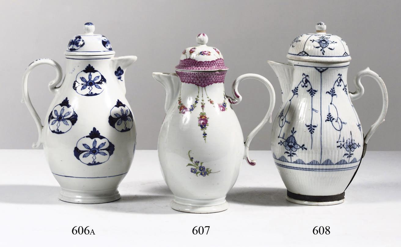 A Thüringen porcelain polychro