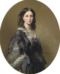 Portrait of Princess Bariatinsky, three-quarter length