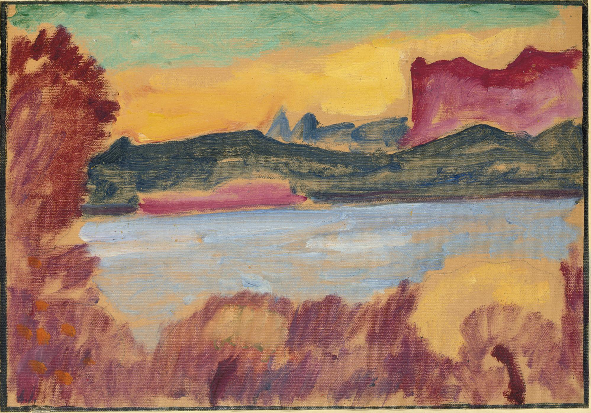 Landschaft, Genfer See