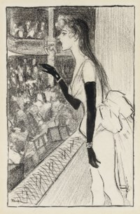 Yvette Gilbert au theâtre