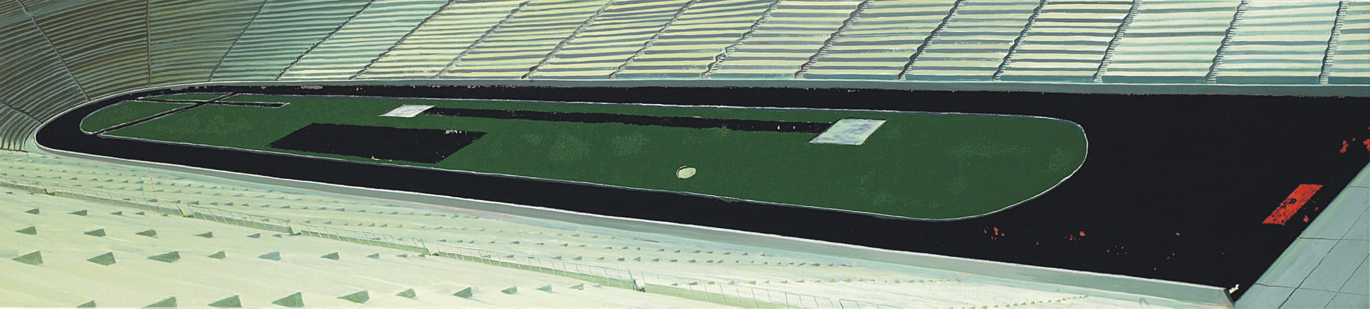 Untitled (Stadium Painting)