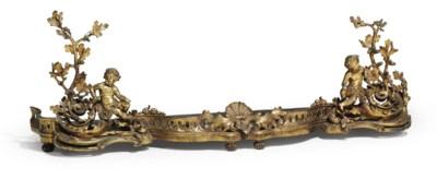 A NAPOLEON III ORMOLU FENDER