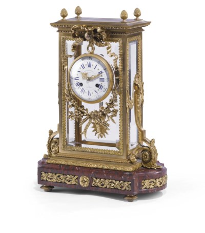 A FRENCH ORMOLU AND GRIOTTE RO