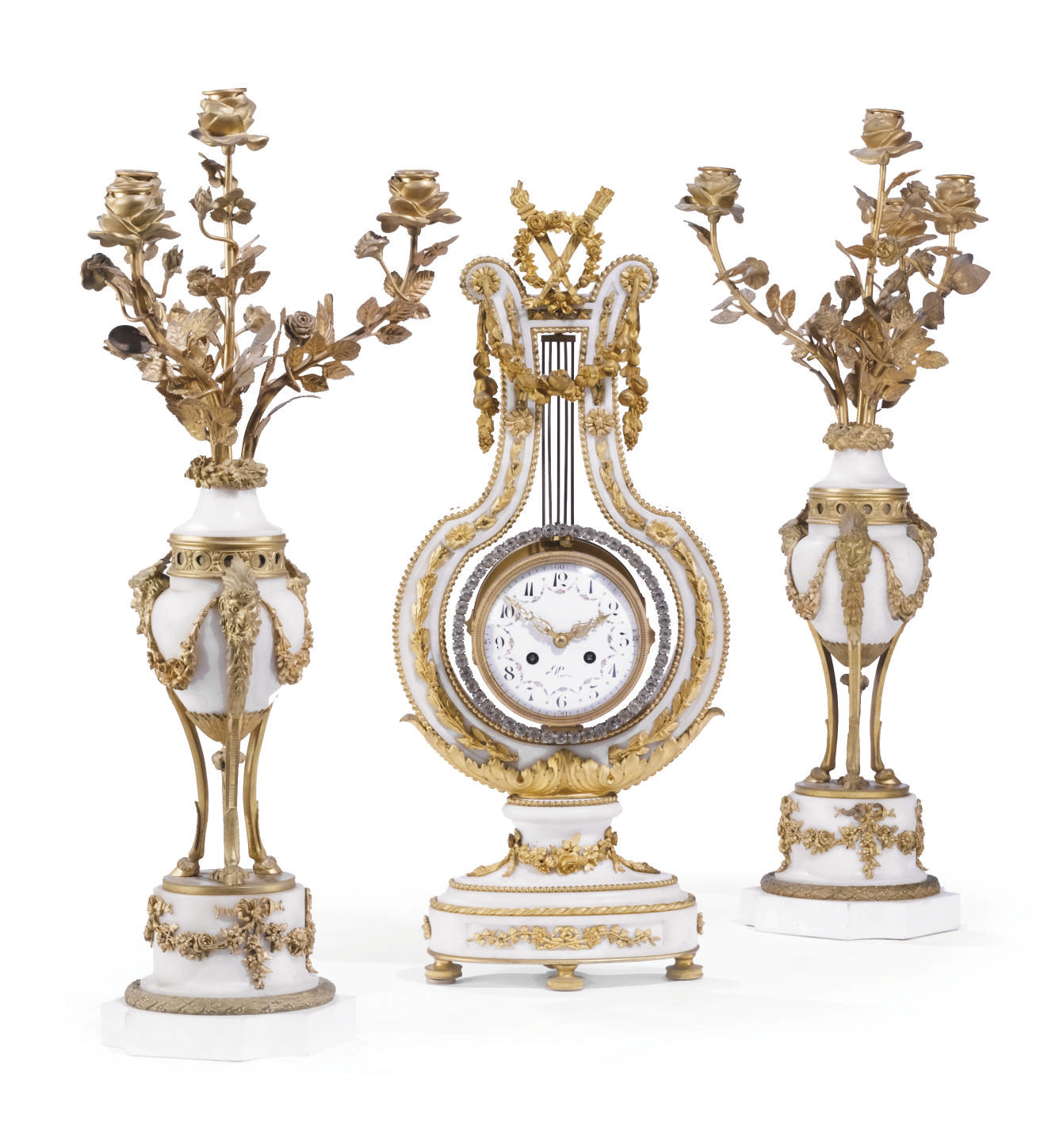 A MATCHED FRENCH ORMOLU, CARRA