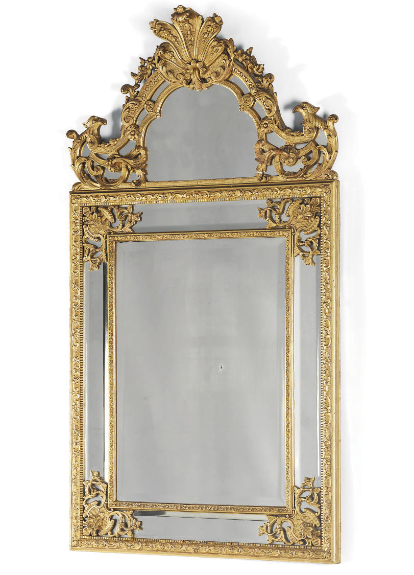 A FRENCH GILTWOOD AND GESSO MI
