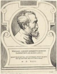 Michelangelo Buonarotti (B. 345; Massari 85)