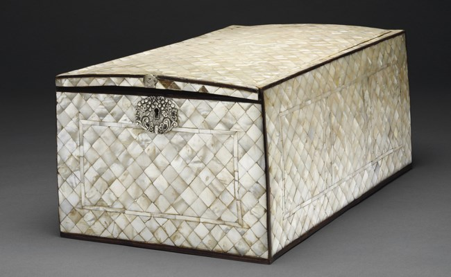 AN OTTOMAN MOTHER-OF-PEARL INL