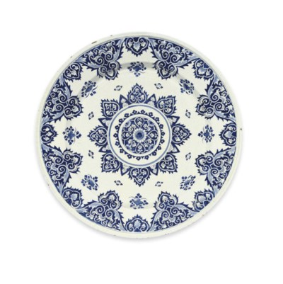 A ROUEN FAIENCE BLUE AND WHITE