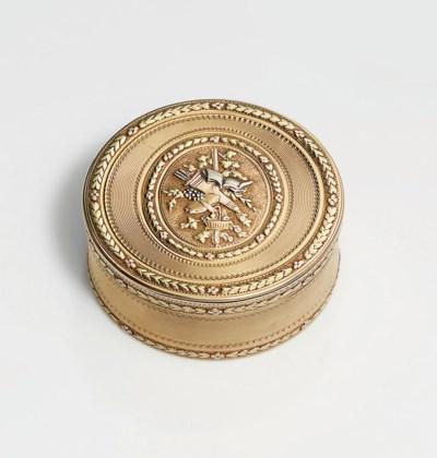 A LOUIS XVI FOUR-COLOUR GOLD B
