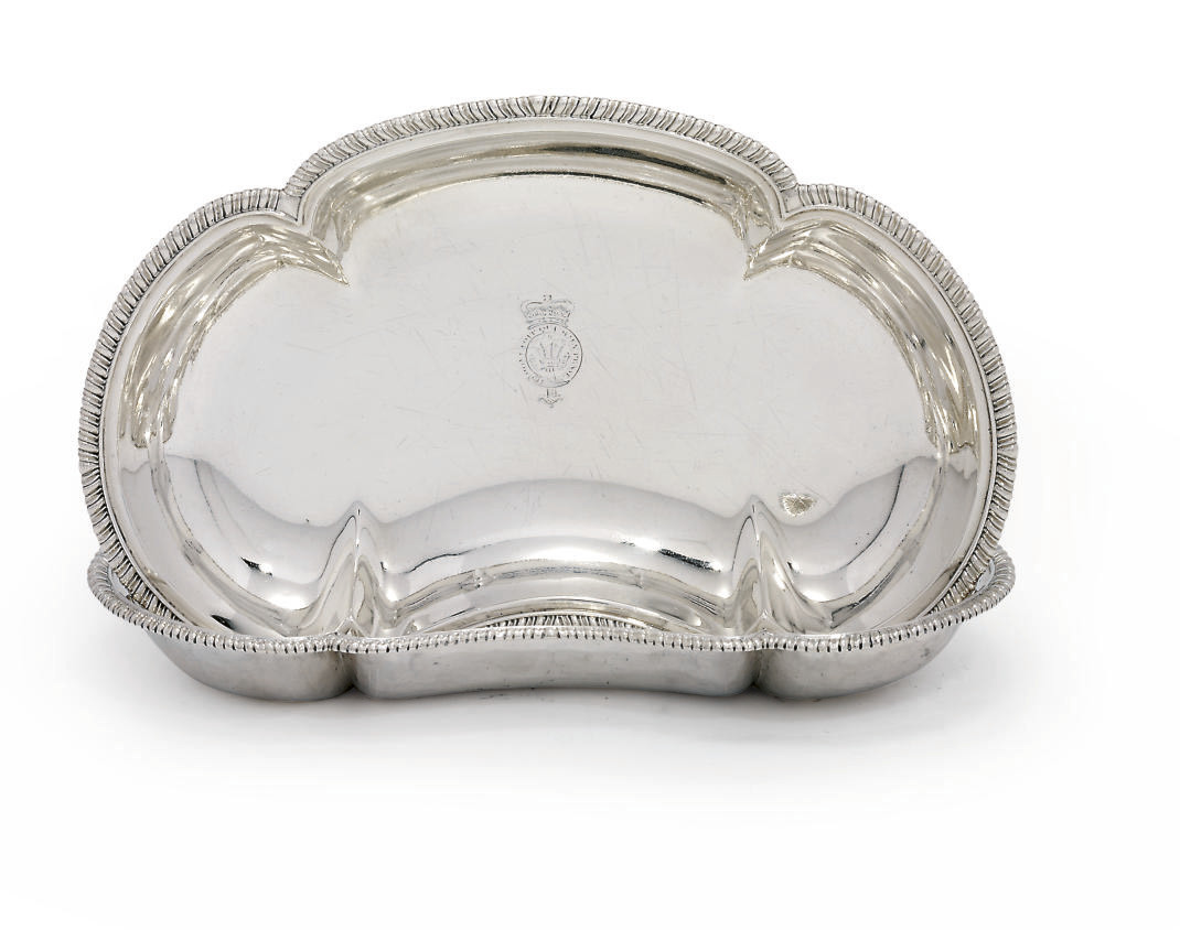 A PAIR OF GEORGE III SILVER DISHES