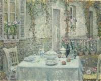 La table blanche, Gerberoy