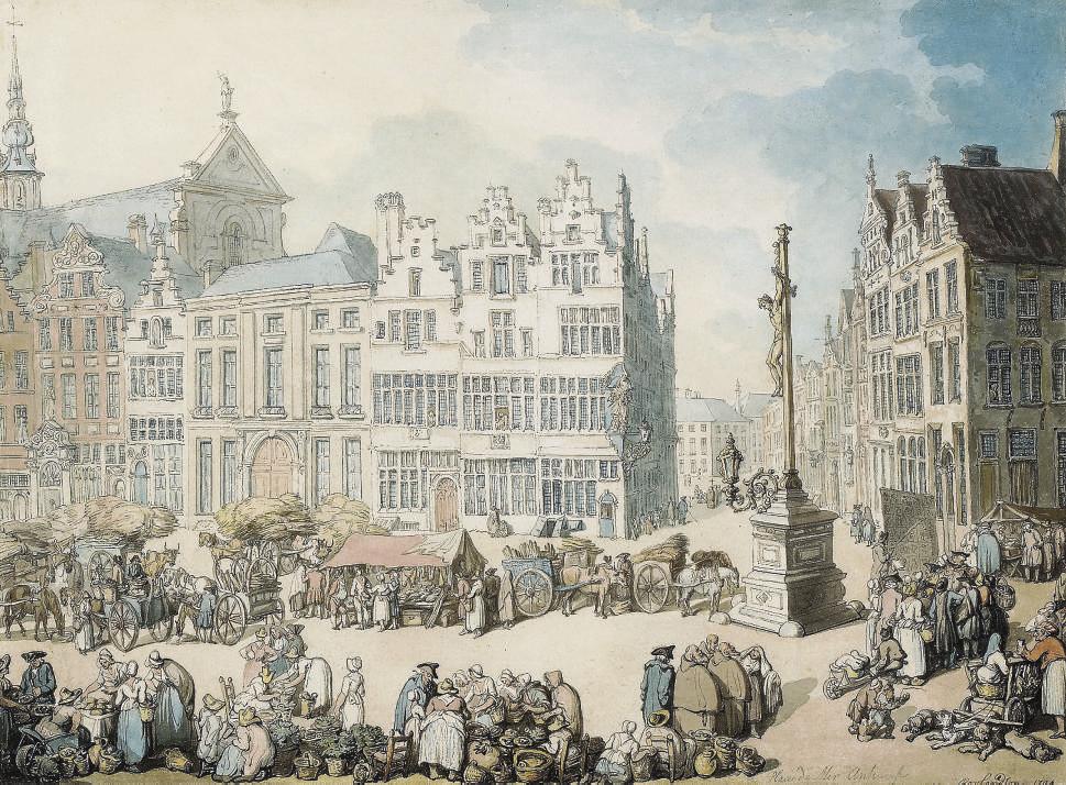 La Place de Mer, Antwerp