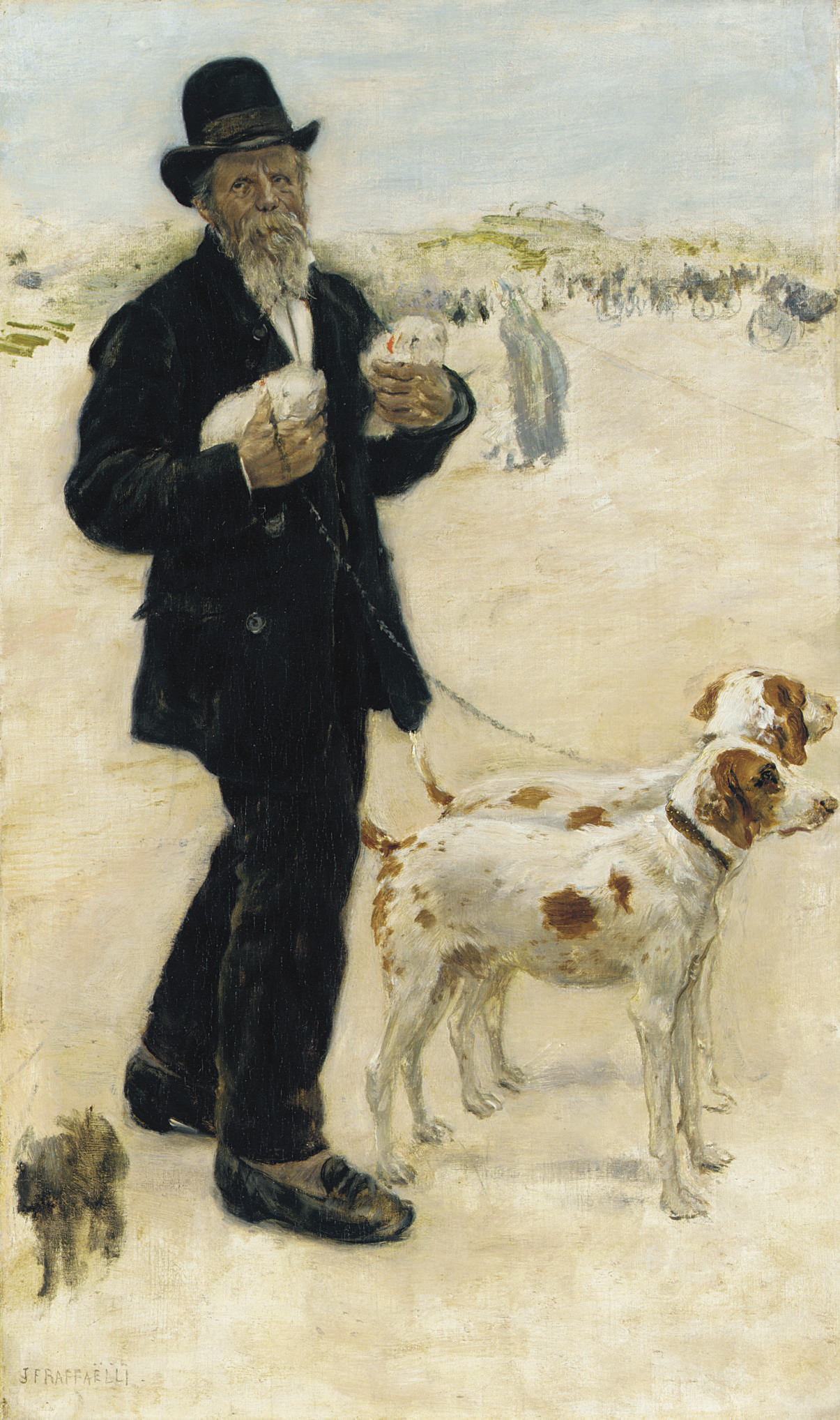 Le dresseur de chiens