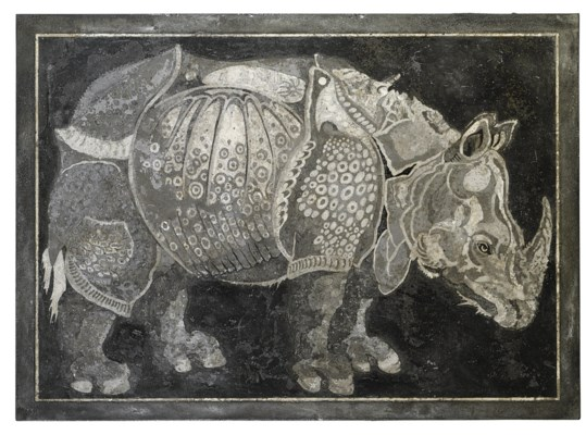 AN ITALIAN GRISAILLE SCAGLIOLA