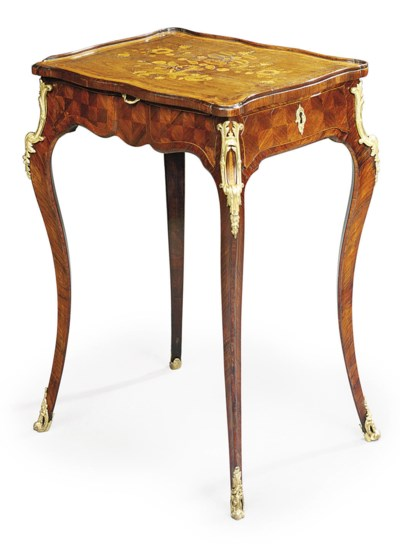 A LOUIS XV ORMOLU-MOUNTED KING