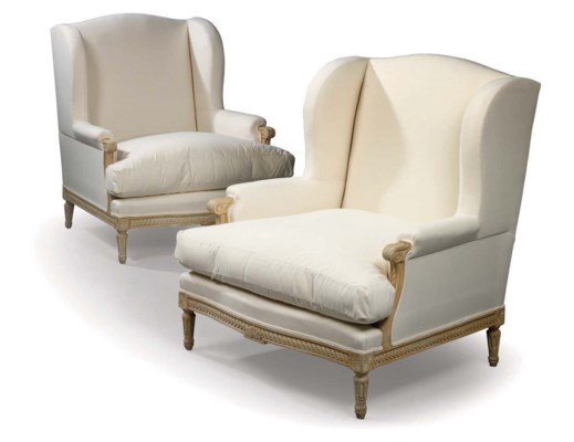 A PAIR OF FRENCH BEECHWOOD BER