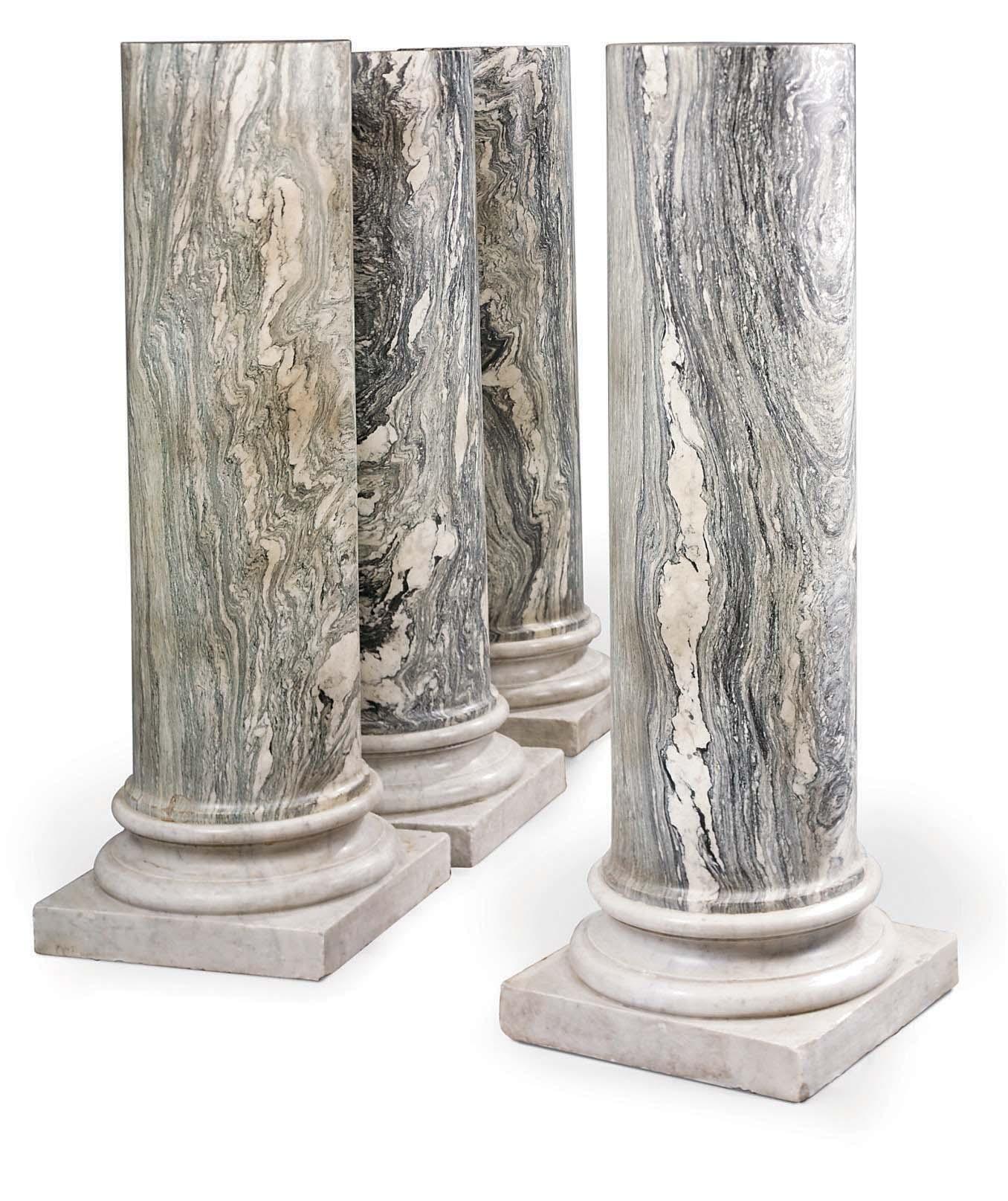 A SET OF FOUR ITALIAN CIPOLLIN
