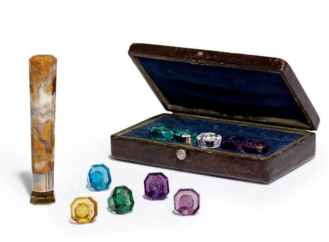 A Set of Vari-Coloured Miniatu