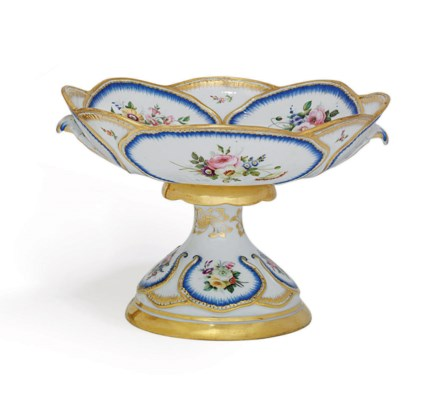 A Porcelain Tazza From The Imp