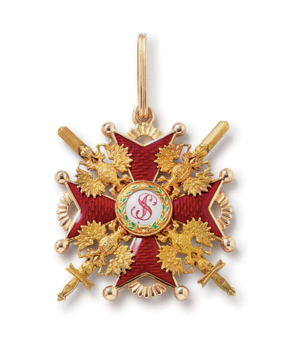 A Gold and Enamel Order of St