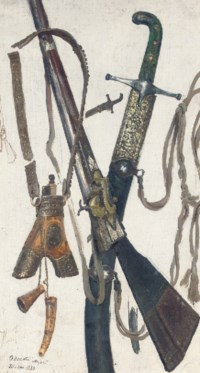 The accoutrements of war