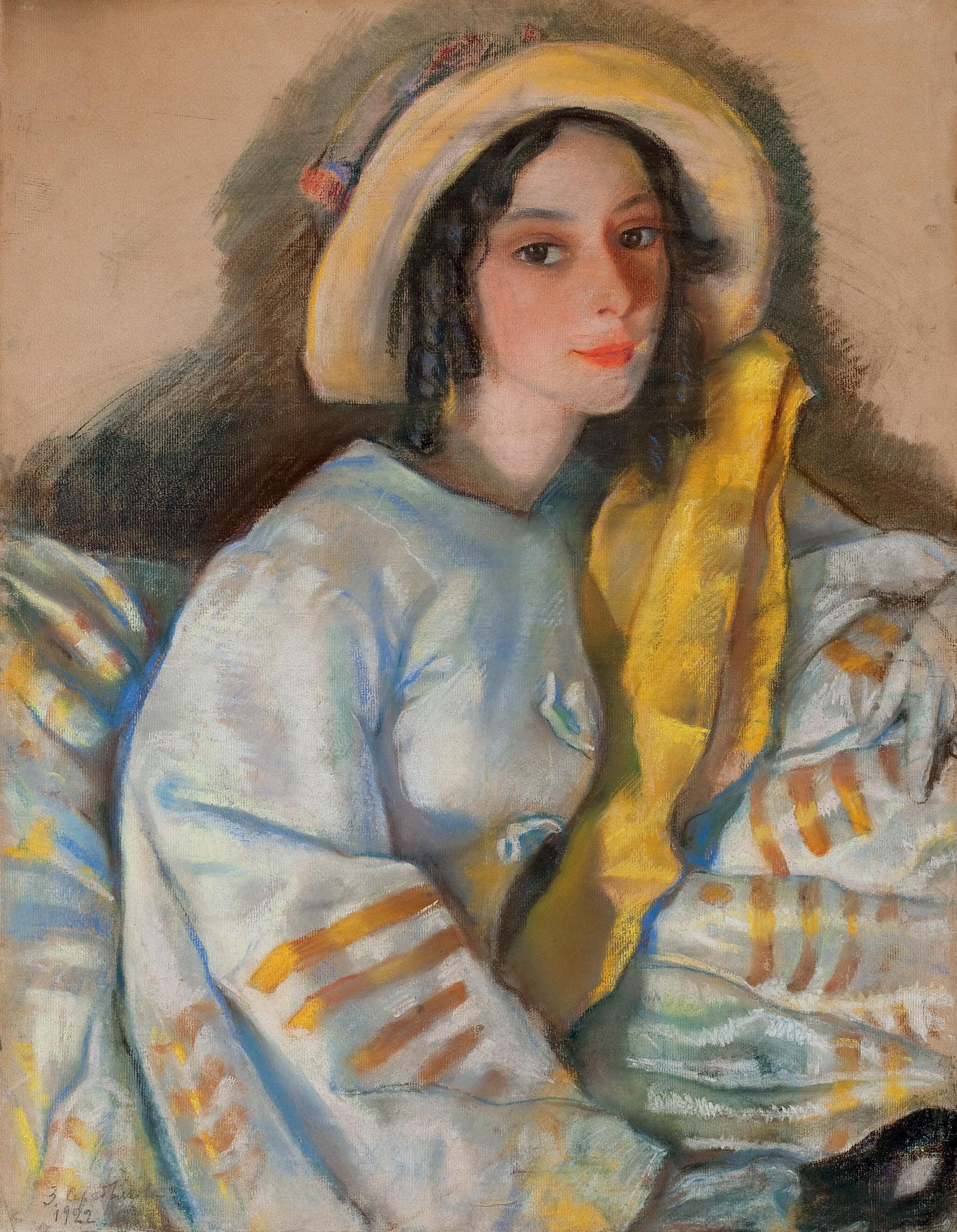 Portrait of Marietta Frangopulo (1901-1979)