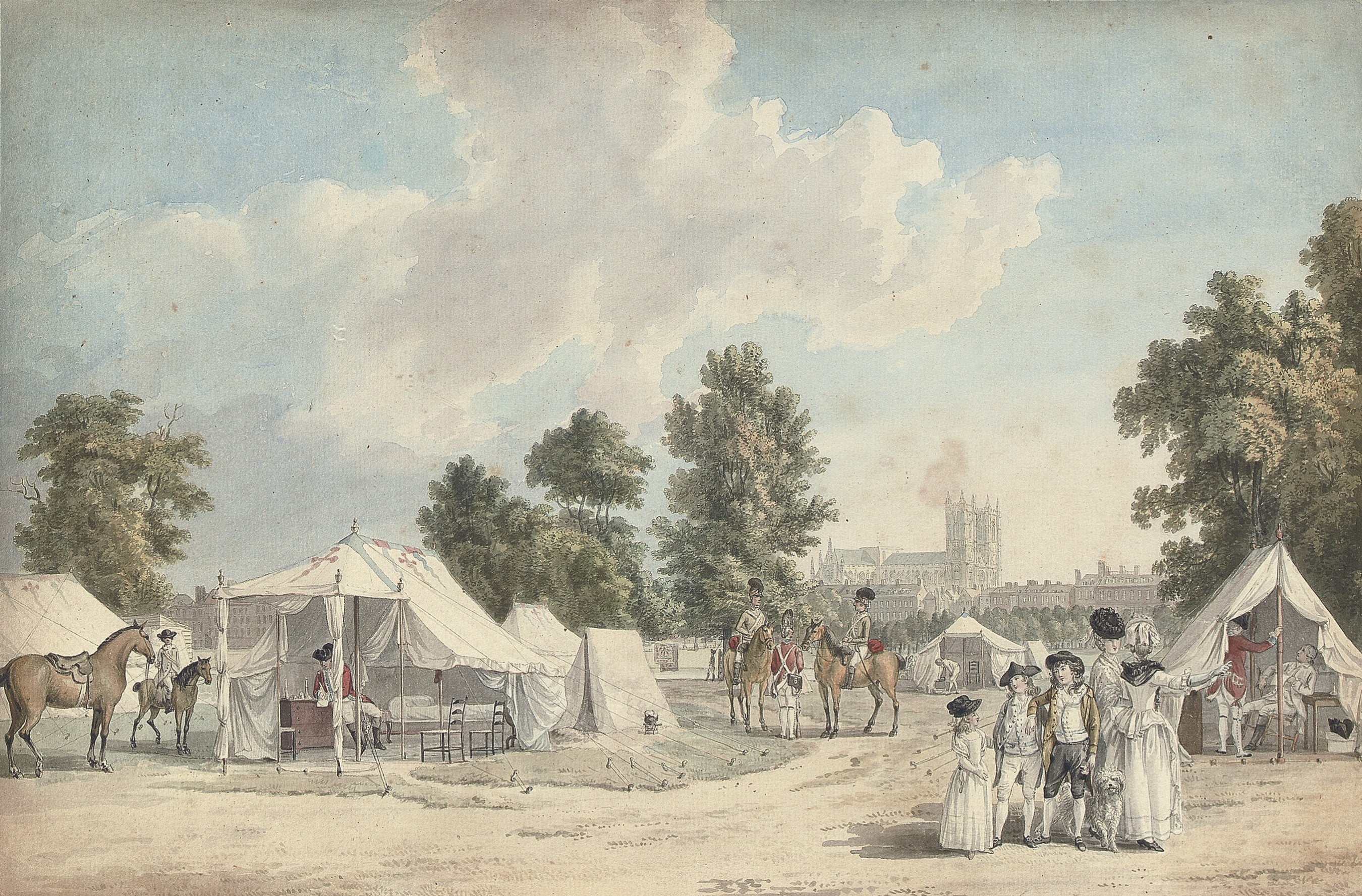 The Encampment, St James's Park, London