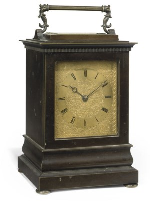 A VICTORIAN PATINATED-BRONZE S
