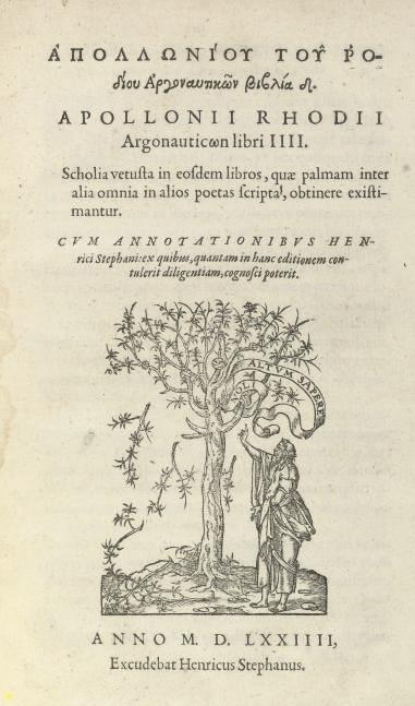APOLLONIUS RHODIUS (240-186 BC