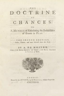DE MOIVRE, Abraham (1667-1754)