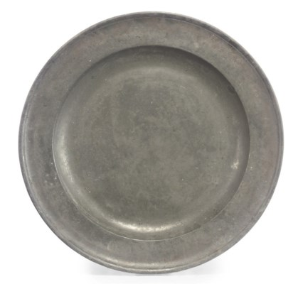 A WILLIAM AND MARY PEWTER CHAR