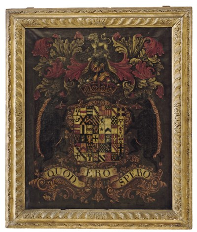THE ARMS OF BOOTH QUARTERING O