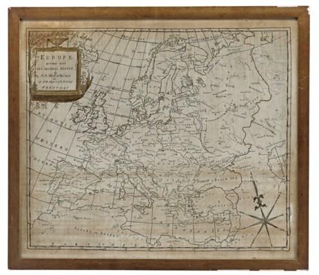 A GEORGE III QUAKER MAP SAMPLE