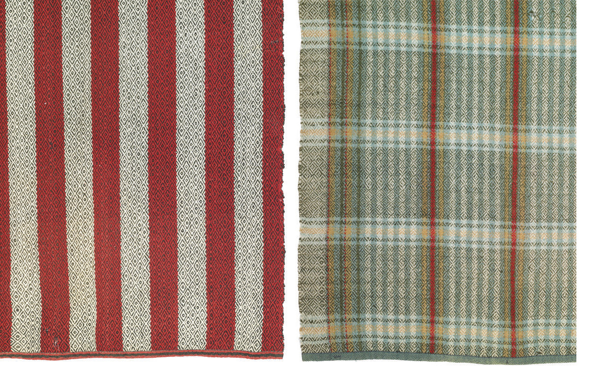 TWO COTSWOLD WOOL BLANKETS