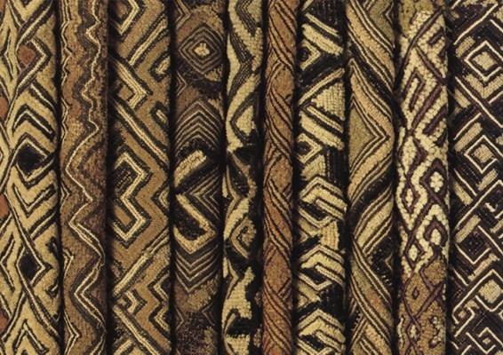 TEN RAFFIA-VELVET KUBA CLOTH S