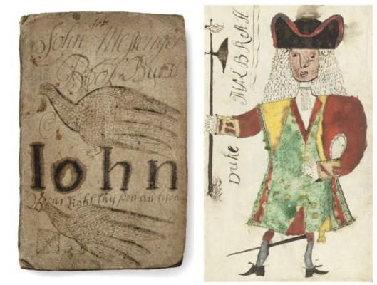 THE 'COPY-BOOK' OF JOHN MESSEN