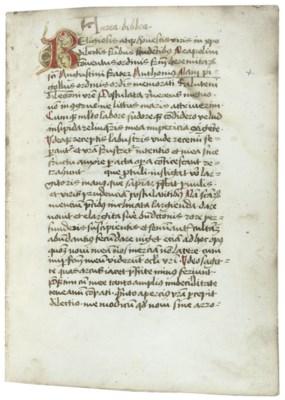 ANTONIUS RAMPEGOLUS (c.1360-14