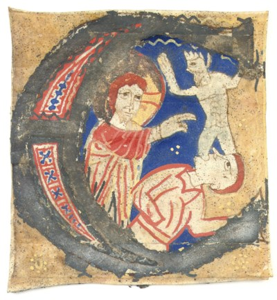 CHRIST EXPELLING A DEMON from