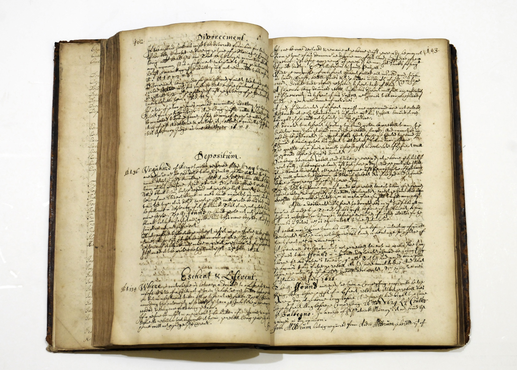 LEGAL MANUSCRIPTS. A group of