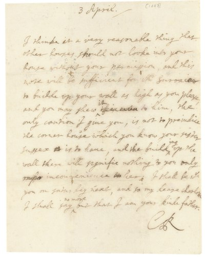 CHARLES II (1630-1685), King o