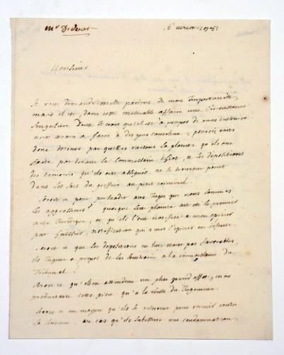 DIDEROT, Denis (1713-1784). Au