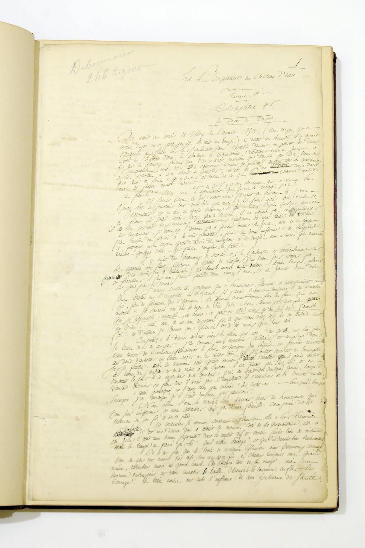 KOCK, Paul de (1793-1871). Aut