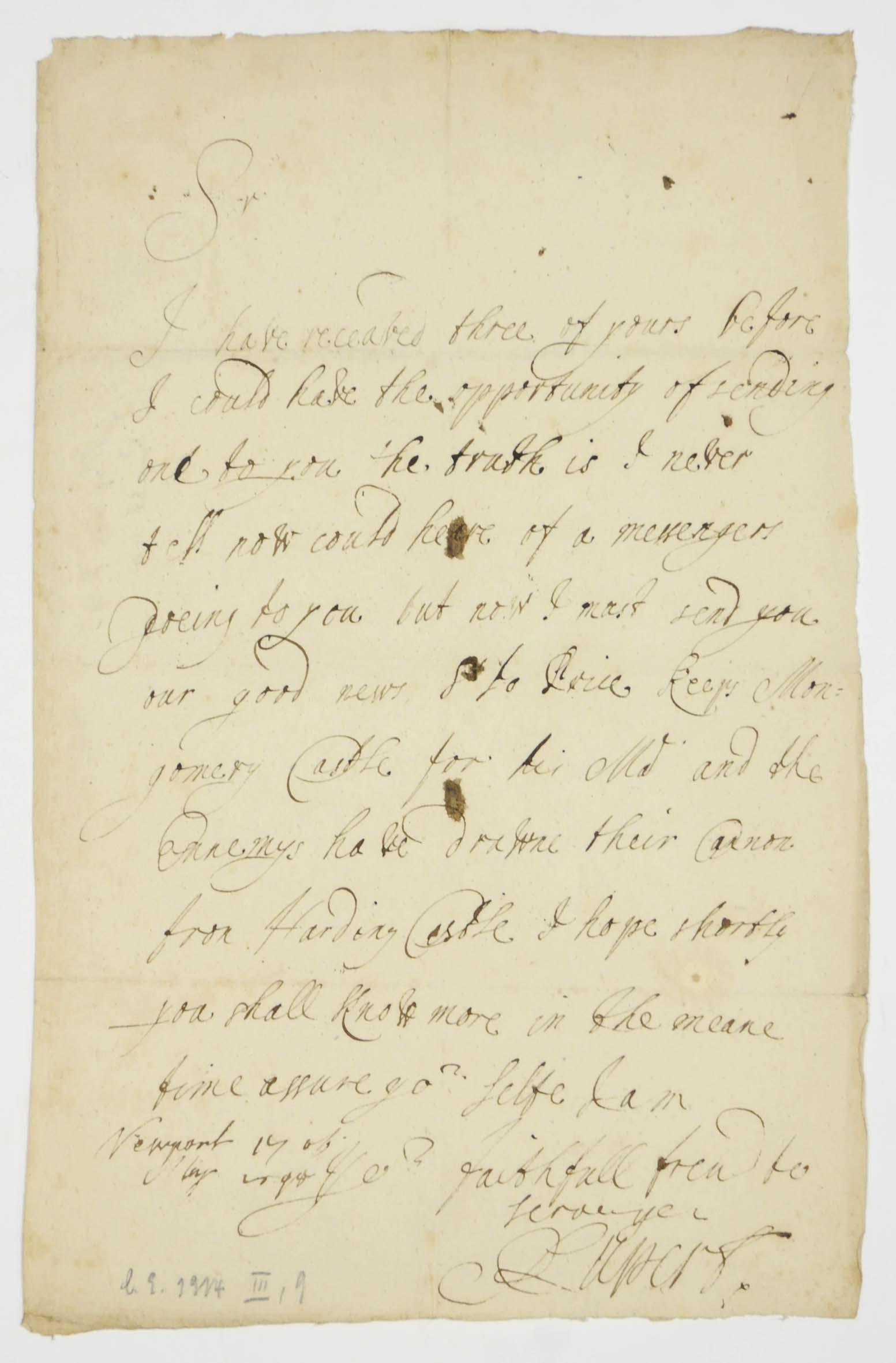 RUPERT, Prince (1619-1682), Co